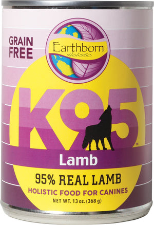 Earthborn K95 Lamb Recipe