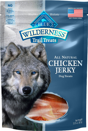 Blue Buffalo Wilderness Jerky Chicken 3.25 oz.
