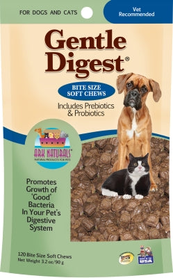 Ark Naturals Gentle Digest Soft Chews 120ct.