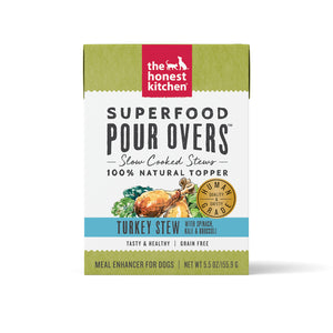 Honest Kitchen Superfood Pour Overs Turkey Stew