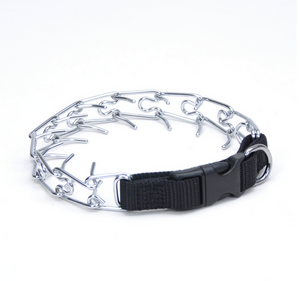 Coastal Quick Release Prong Collar with Nylon Buckle