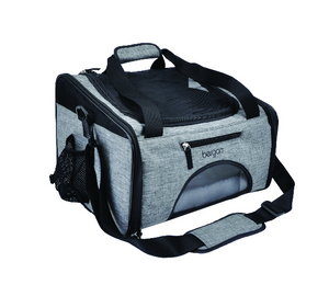 Bergan Booster Pet Carrier Heather Grey