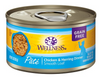 Wellness Adult Cat Chicken & Herring Formula