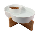 Highwave Large Bowl Set Bamboo Stand