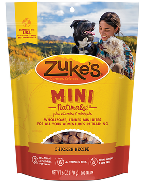 Zuke's Mini Naturals Chicken Recipe