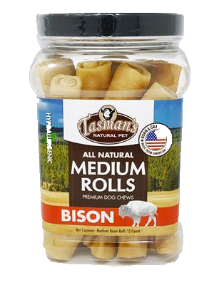 Tasmans Bison Medium Rolls 12ct.