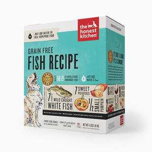 Honest Kitchen Grain-Free Fish Recipe