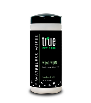 Wash Wipes Bamboo & Mint 30 ct.