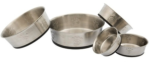 Petrageous Cayman Classic Non-Skid Stainless Steel Bowls