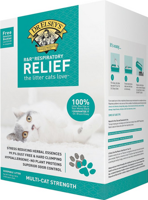 Dr. Elseys Respiratory Relief Clay Litter 20 Lb.