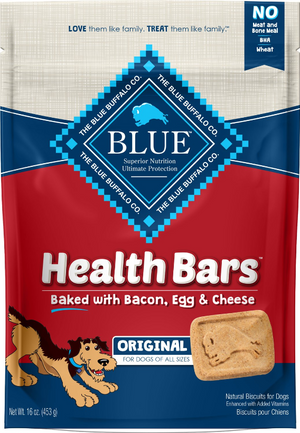 Blue Buffalo Health Bars Bacon, Egg & Cheese 16 oz.