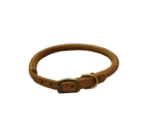 Coastal Rustic Round Leather Collar