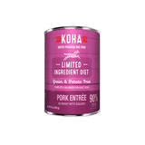 Koha Limited Ingredient Pork Entree