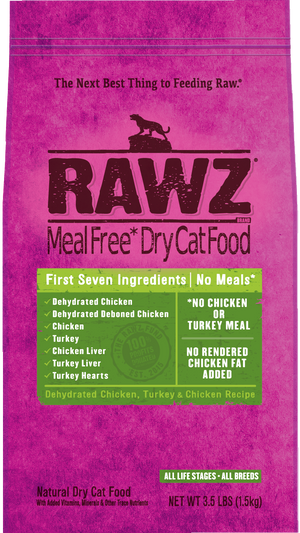 Rawz Cat Chicken & Turkey