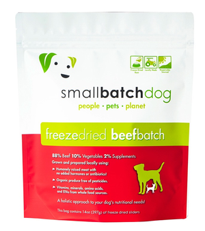 Small Batch Freeze Dried Beef 14 oz.