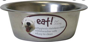 Eat! Basic Stainless Steel Bowl