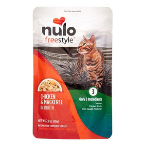 Nulo Cat Chicken & Mackerel in Broth
