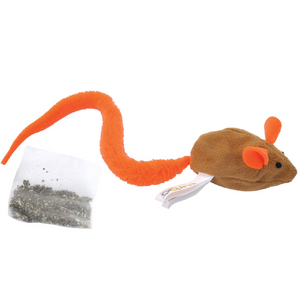 Coastal Turbo Tail Mouse With Catnip Pouch