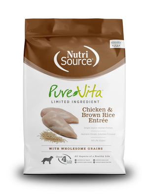 Pure Vita Chicken & Brown Rice Formula