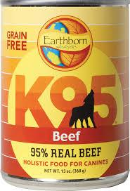 Earthborn K95 Beef Recipe