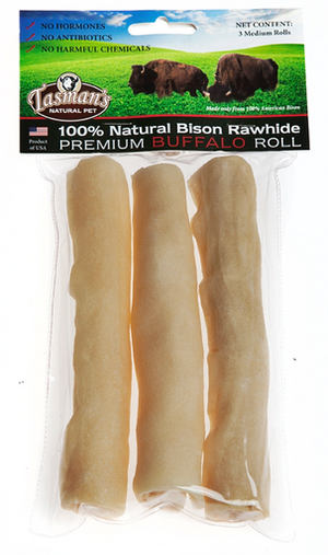 "Tasmans Bison 6"" Medium Rolls 3 Pack"