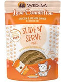 Weruva Slide N' Serve Love Connection Chicken & Salmon Pate