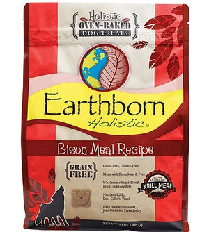 Earthborn Holistic Grain-Free Bison Biscuits