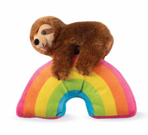 Fringe Sloth On A Rainbow