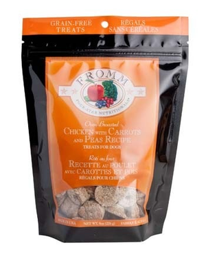 Fromm Grain Free Chicken & Carrots & Pea Treats 8 oz.