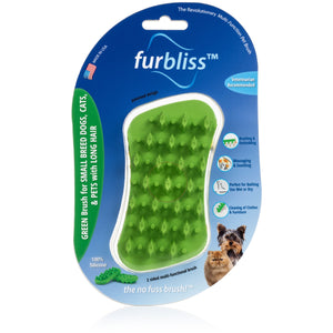 Furbliss Small Breed Dogs Cats With Long Hair Green