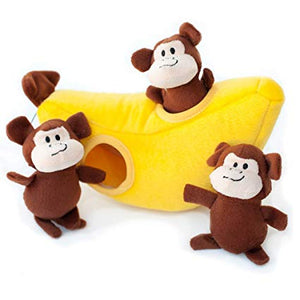 Zippy Paws Monkey N' Banana