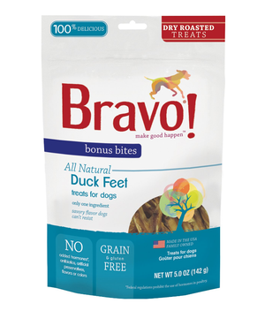Bravo Roasted Duck Feet 5 oz.