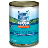 Natural Balance Ultra Chicken, Duck & Brown Rice Puppy Formula