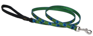 "Lupine 3/4"" Tail Feather Leash 6"