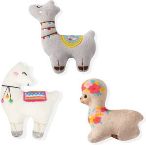 Fringe Llama Love 3 Pcs Toy Set
