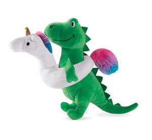 Fringe T Rex In Unicorn Floatie Plush