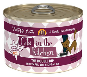 Weruva Cats in the Kitchen The Double Dip Chicken & Beef Au Jus