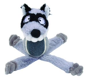 Coastal Lil Pals Tennis Ball Plush Raccon