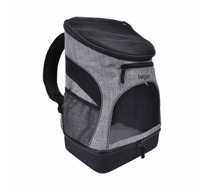Bergan Backpack Carrier Heather Grey