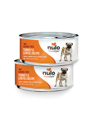 Nulo Grain-Free Small Breed Turkey & Lentils Recipe