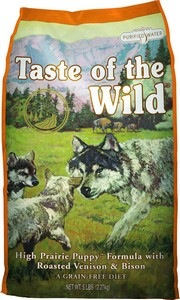 Taste of the Wild High Prairie Bison Puppy Recipe
