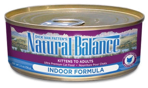 Natural Balance Indoor Chicken Formula