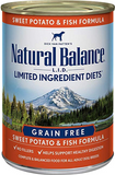 Natural Balance Limited Ingredient Sweet Potato & Fish Formula