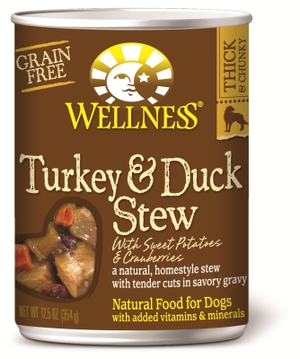 Wellness Grain-Free Turkey & Duck Stew