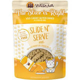 Weruva Slide N' Serve The Slice is Right Wild Caught Salmon Pate