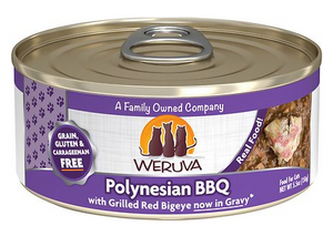 Weruva Cat Grain-Free Polynesian BBQ with Grilled Red Bigeye