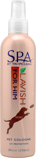 Tropiclean Spa for Him Cologne 8 oz.