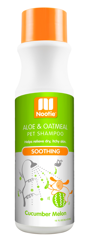 Nooties Shampoo Oatmeal Cucumber Melon 16oz