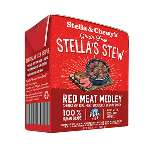 Stella & Chewy's Tetra Pack Red Meat Medley Stew