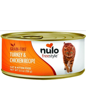 Nulo Cat Grain-Free Turkey & Chicken Recipe